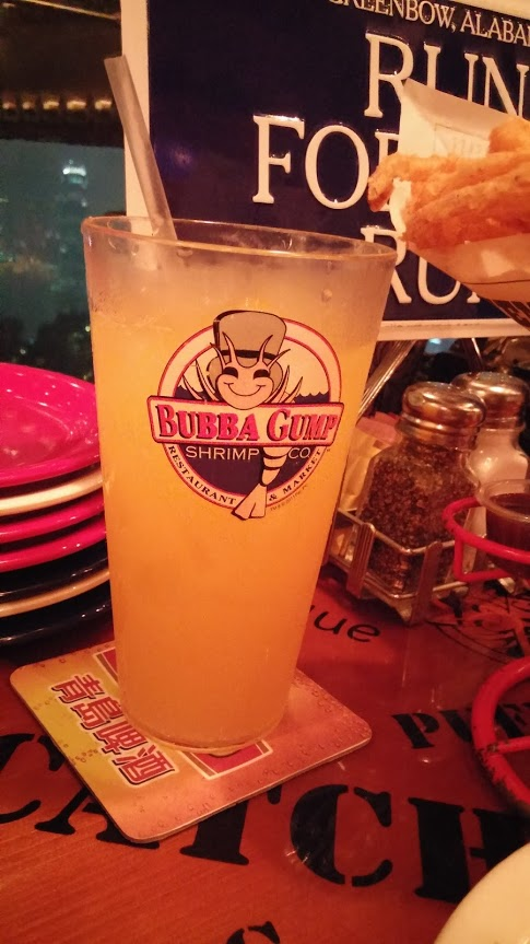 20150927 Bubba Gump Drink